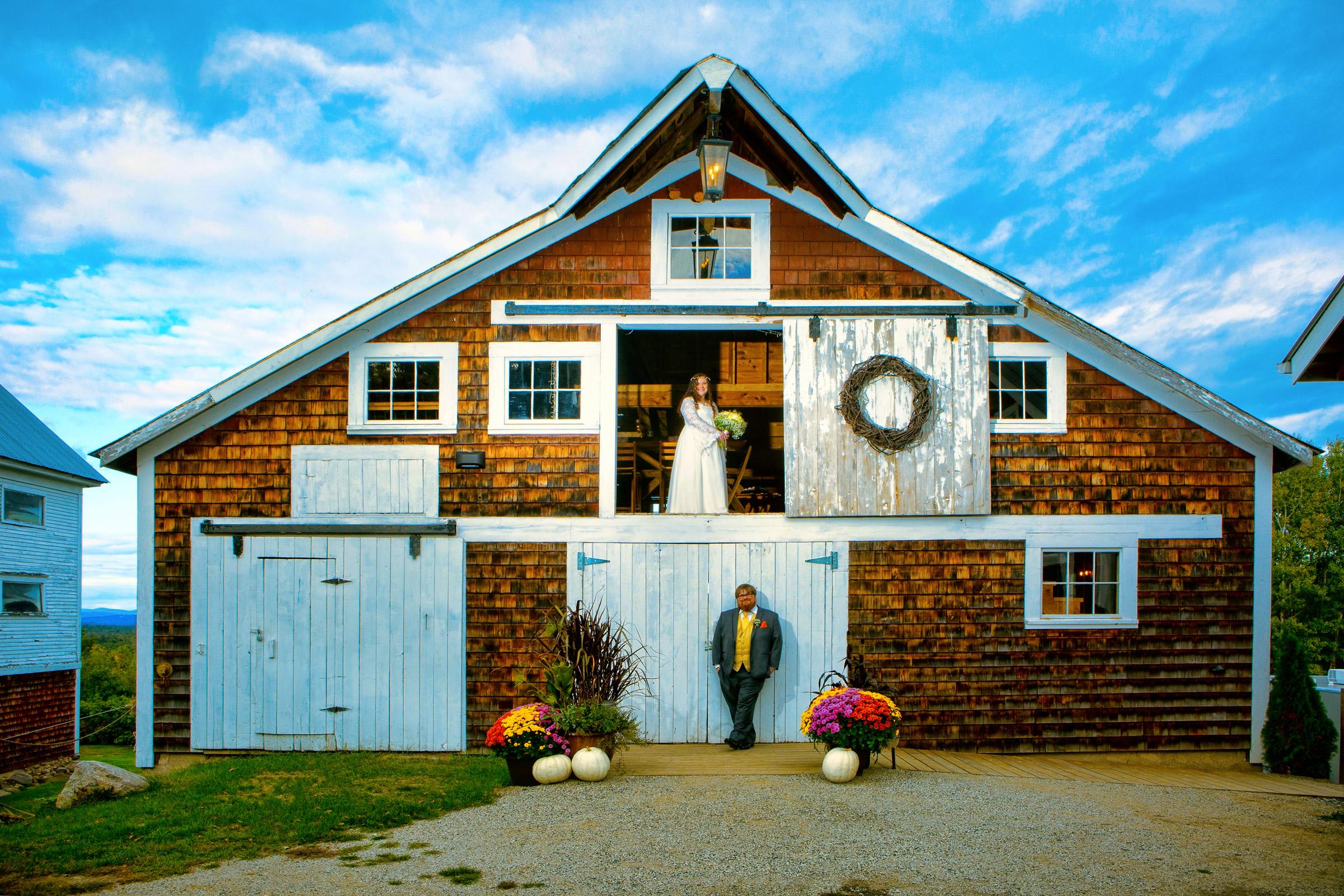 Linnell farm wedding in maine