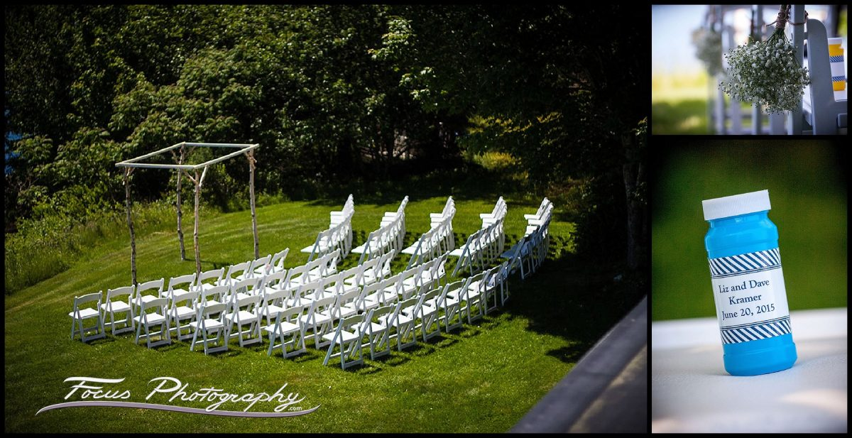 Ceremony Site - Grey Havens Inn wedding photographs