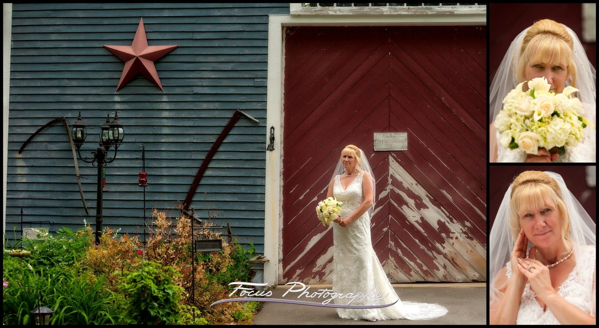 New Hampshire Wedding - bride's Home