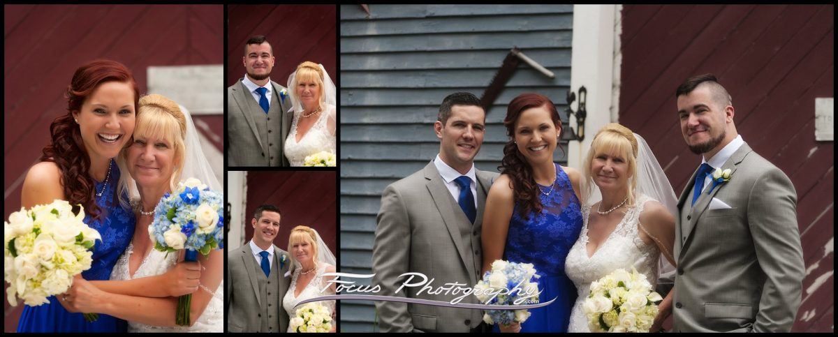New Hampshire Wedding - bride's family