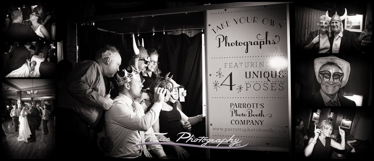 photobooth at Colony Hotel wedding in Kennebunkport, Maine